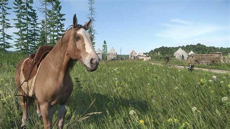 kingdom come deliverance horse game 4k screenshots
