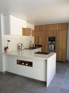 Cuisines Ikea 2018 : cuisine ikea blanc et ch ne hyttan cuisine pinterest ~ Nature-et-papiers.com Idées de Décoration