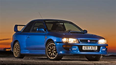Blue Subaru Wallpaper by 1998 Subaru Impreza 22b Sti Wallpapers Hd Images