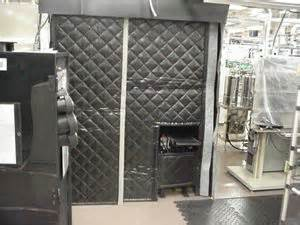 Noise Dening Curtains Industrial by Curtain Enclosures