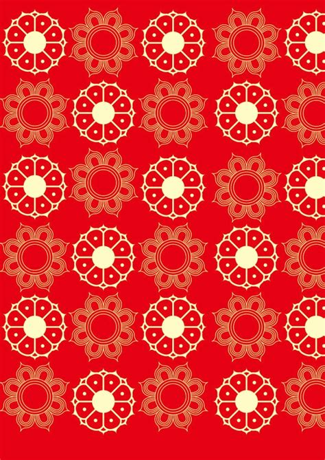 red floral patterns flowers patterns freecreatives