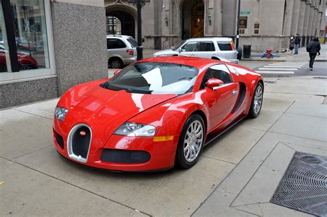 2008 Bugatti Veyron 16_4 Red Rouge Rosso Dreamcar Exotic