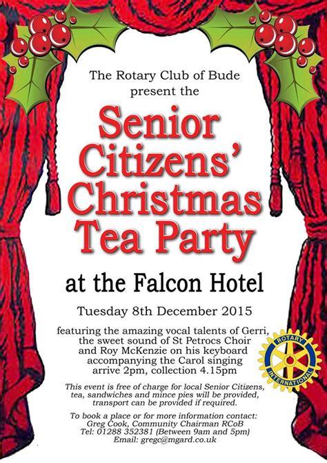 christmas ideas for senior citizens senior citizens bude bude and beyond be local