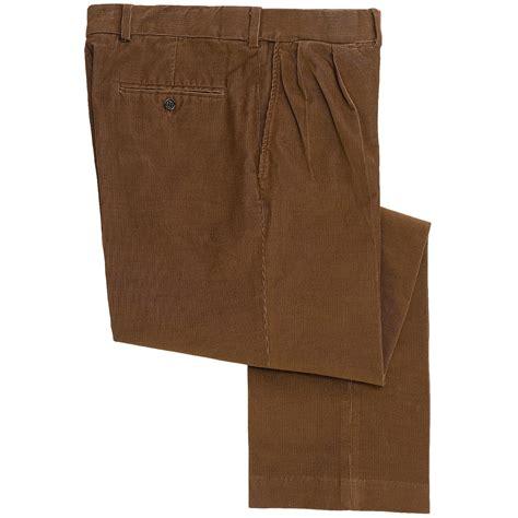 wale corduroy comfort waist pants  men