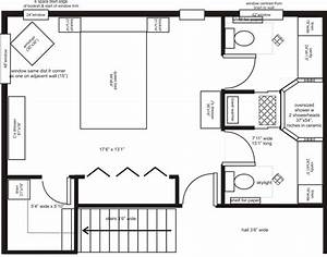 master bedroom addition floor plans | his/her ensuite ...