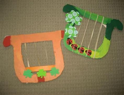 cardboard harp for a st s day 618 | 8e8249cf427414cc8caab390893a4334
