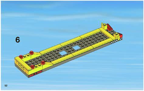 Lego Boat Transporter Instructions by Lego Power Boat Transporter Instructions 4643 City