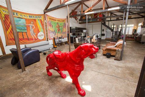 Artist Converts Century old Gas Station into Home