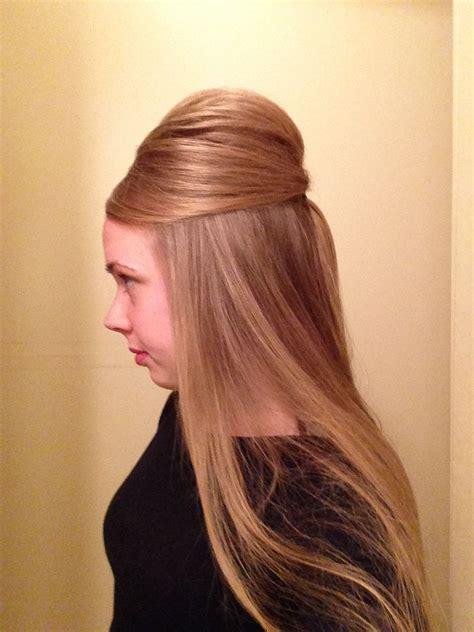 pentecostal poof  updo pentecostal hair styles