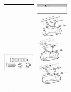 Liftmaster Garage Door Opener 3240 1  2 Hp User U0026 39 S Manual