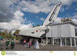 The Soviet Space Shuttle Buran. Editorial Stock Photo ...