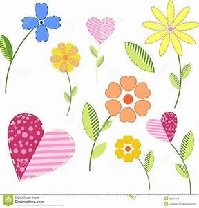 Blumen Bilder Gemalt : gemalte blumen vektor abbildung illustration von inneres 46907412 ~ Orissabook.com Haus und Dekorationen