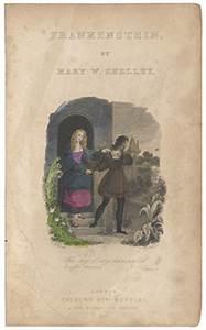 Fiction; Shelley (Mary Wollstonecraft), Frankenstein ...