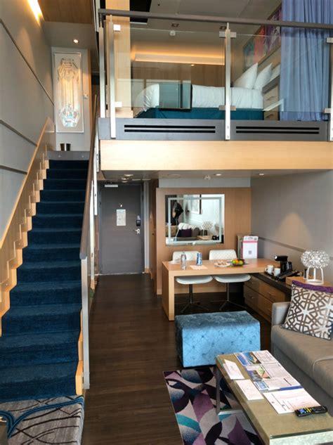 crown loft suite  balcony cabin category  harmony