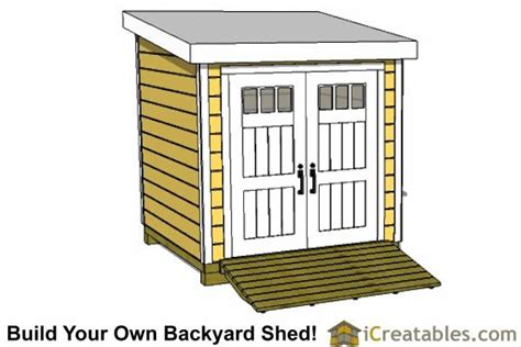 8x8 Shed Plans Free by 8x8 Lean To Shed Plans Front Shed 8 X8