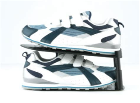 Schuhe Platzsparend Stapeln by 4 Er Set Space Maxx Schuh Organizer Schuhregal Schuhe Ebay