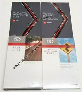 2020 Toyota Rav4 Navigation Owners Manual Limited Xle