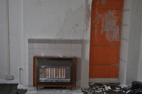 removal   gas fire  living room gas work job