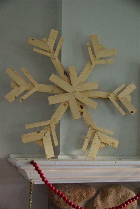 diy wood snowflakes wood snowflake scrap wood projects