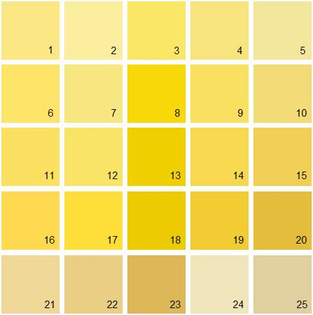 benjamin moore paint colors yellow palette 11 house