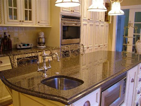 granite kitchen countertop is in all the rage and style