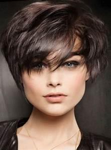 Coupe Courte Visage Ovale : coiffure courte visage ovale 2017 ~ Melissatoandfro.com Idées de Décoration