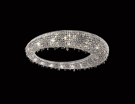 nella vetrina rio  manooi luxury white crystal hanging