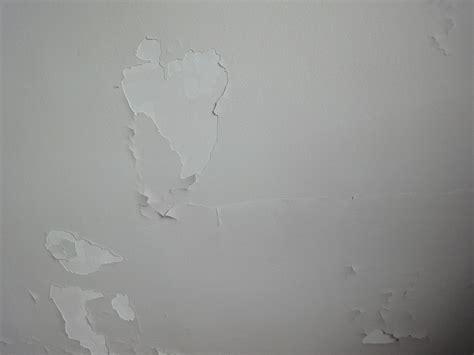 peinture du plafond qui se d 233 colle et tombe