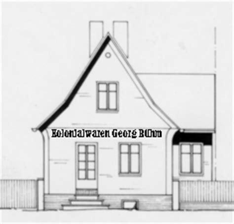 Haus Gezeichnet Vorne by Reinhold Magner Aus Hagenbach Germany