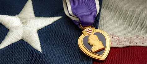 purple heart day honoring  wounded brave  fallen