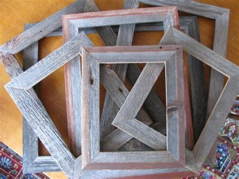 barn wood frames barnwood picture frames custom woodworking projects plans