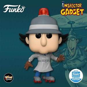 2020 new funko pop inspector gadget with skates