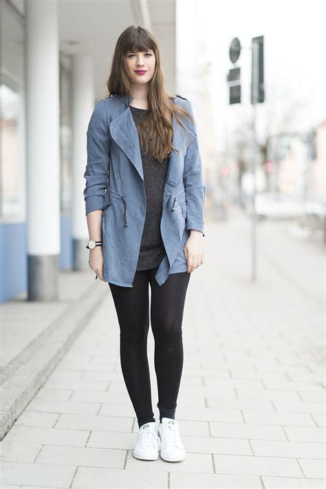 OUTFIT Stan Smith u0026 Blue Trench - andysparkles