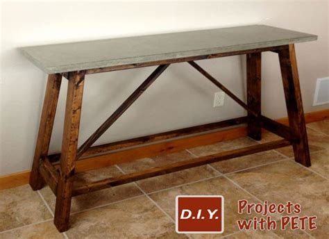 how to make a concrete table how to build a concrete table for beginners