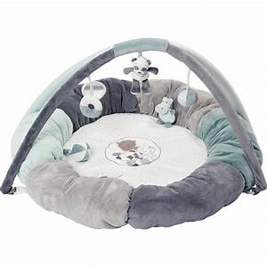 tapis pouf deveil avec arches lea loulou hippolyte de With tapis bébé avec canapé avec pouf amovible