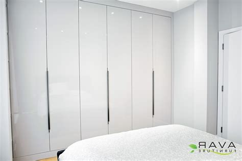 Bedroom White Wardrobes by 15 Best Collection Of High Gloss White Wardrobes