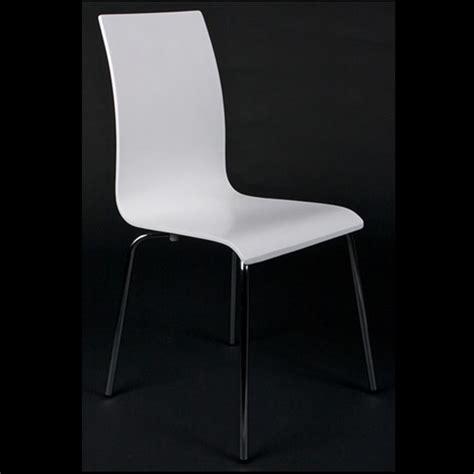 cdiscount chaise de cuisine chaises de salon ou de cuisine blanche lot de 4 achat