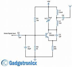 Wifi Antenna Amplifier Circuit Diagram