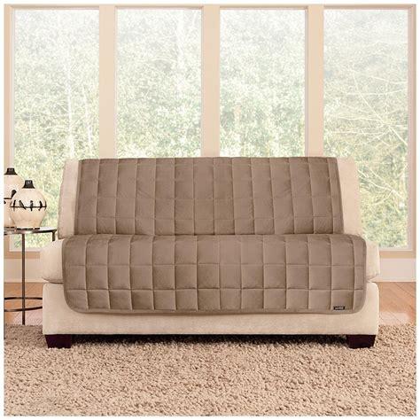 Armless Loveseat Slipcovers by Armless Sofa Slipcover Plush Stretch Folding Armless Sofa