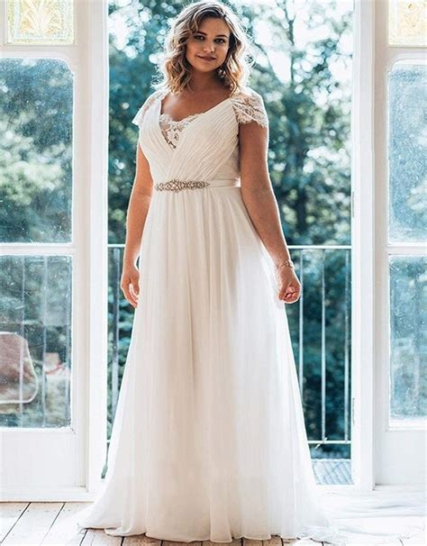 top 10 best cheap plus size wedding dresses heavy com