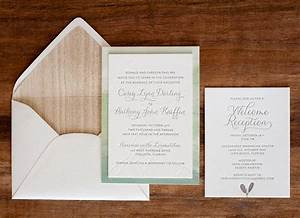 Anthony casey39s nature inspired watercolor wedding for How 2 make wedding invitations