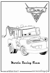 coloring pages of mater