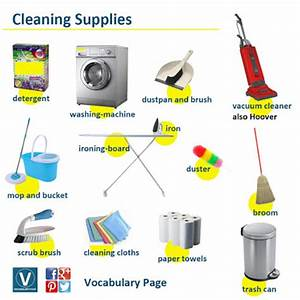 Click on: CLEANING & OTHER HOUSEHOLD CHORES