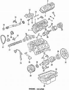 Chevrolet Monte Carlo Engine Crankshaft Thrust Washer