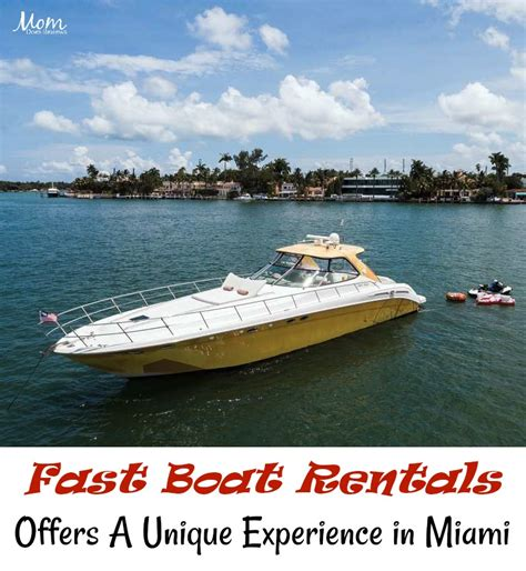 Go Fast Boat Rental Miami by Fast Boat Rentals Offers A Unique Experience In Miami