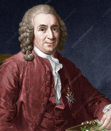 Carl Linnaeus, Swedish botanist - Stock Image - H412/0346 ...