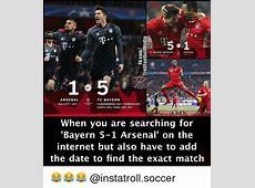 25+ Best Memes About Bayern Arsenal Bayern Arsenal Memes