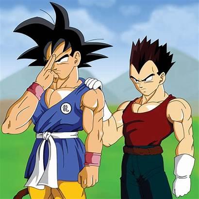 Goku Animated Vegeta Dbz Planet Dragonball Anime