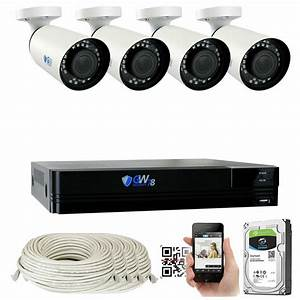 Gw Security 8 Channel 4 4k 8mp Face Recognition Poe Ip