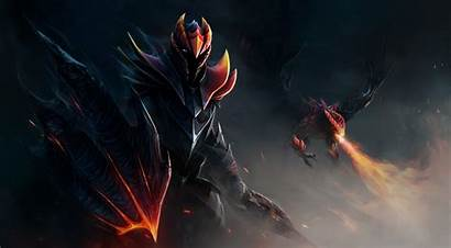 Knight Dota Dragon Fantasy Anime Crystal Desktop